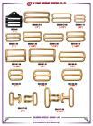Brass Sliding Buckles 01